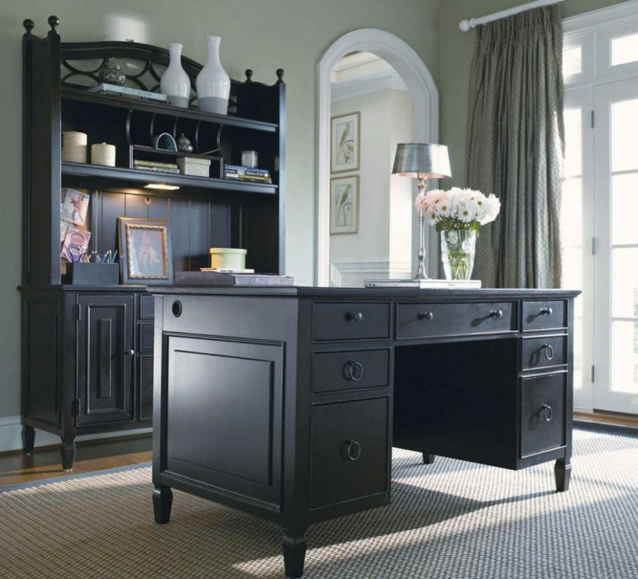 Furniture Glamorous Elegant Home Office Furniture Design Featuring ...