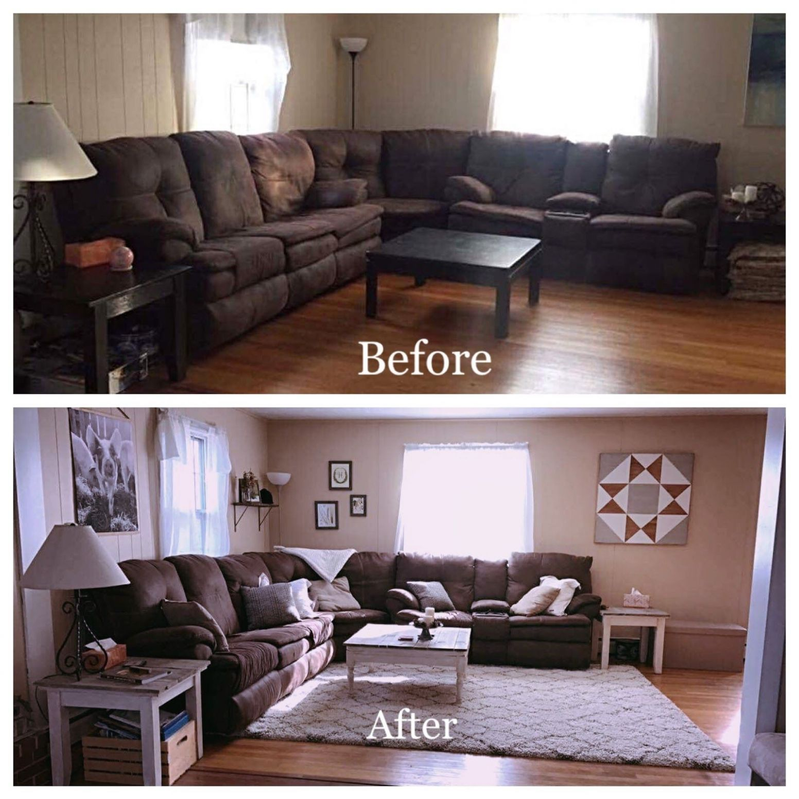 future home~ image by Abby Kiesel | Dark brown couch living room ...