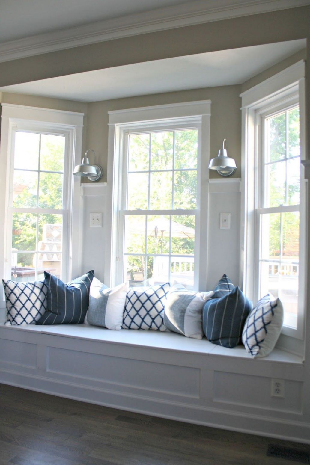 Gaining Kitchen Storage | Window seat kitchen, Bay window design ..