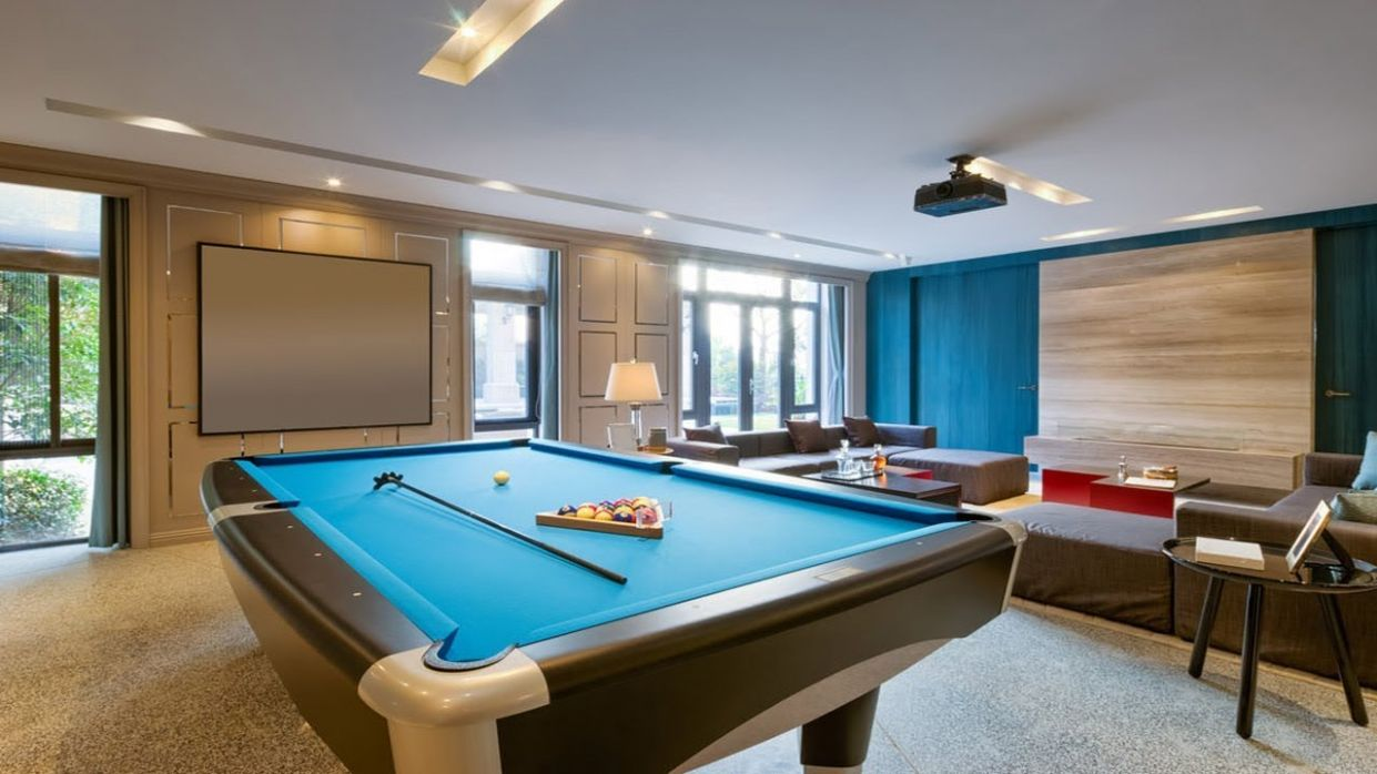 Game Room Ideas | 12 Fun Game & Entertainment Room Design