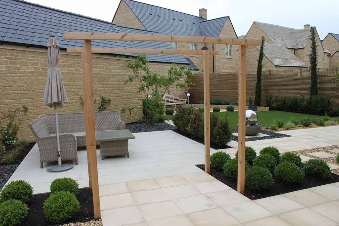 Garden Design for a Brand New Garden - garden ideas new build