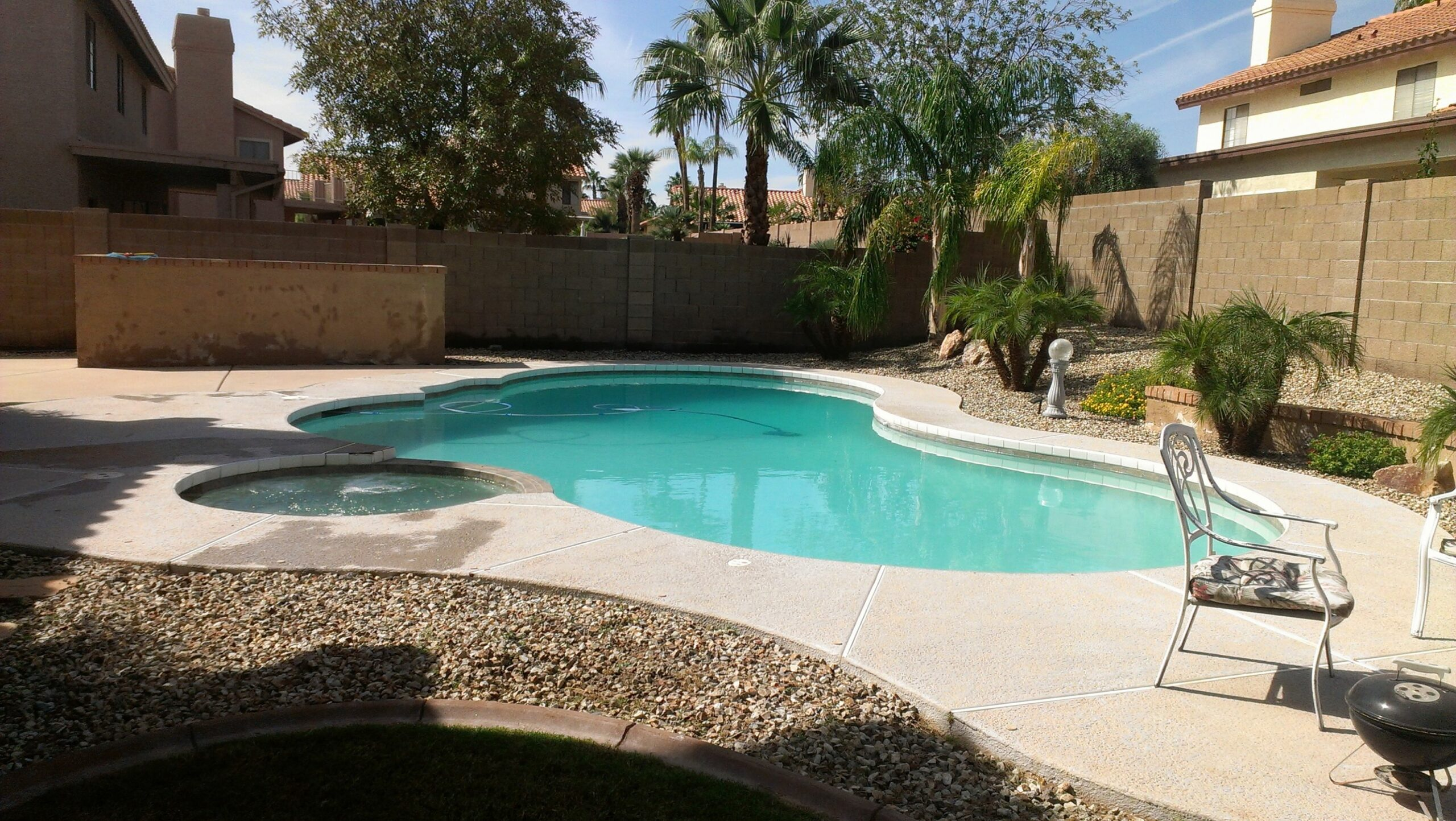 Garden Ideas Backyard Pool Landscaping Perfect Large Rectangle ..
