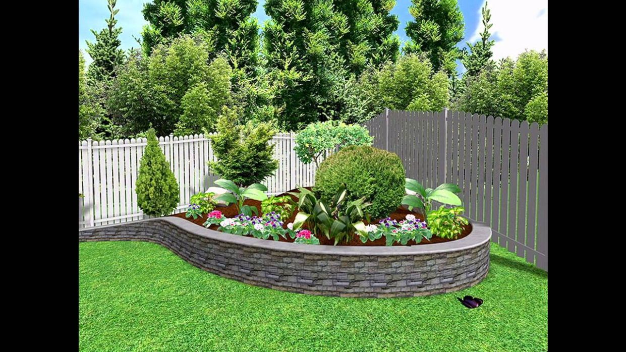 Garden Ideas] Small garden landscape design Pictures Gallery - YouTube - backyard landscaping ideas youtube