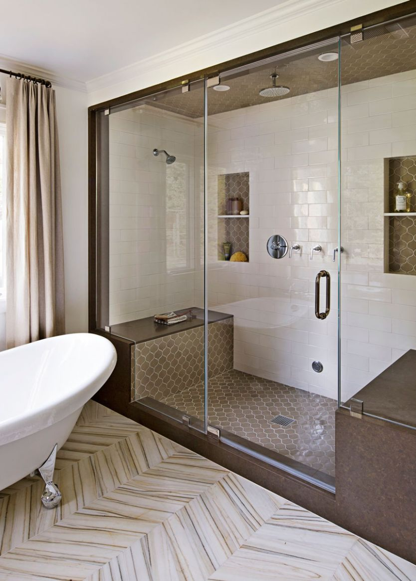 Get Your Bathroom Revamped With a Unique Pattern of Materials ...