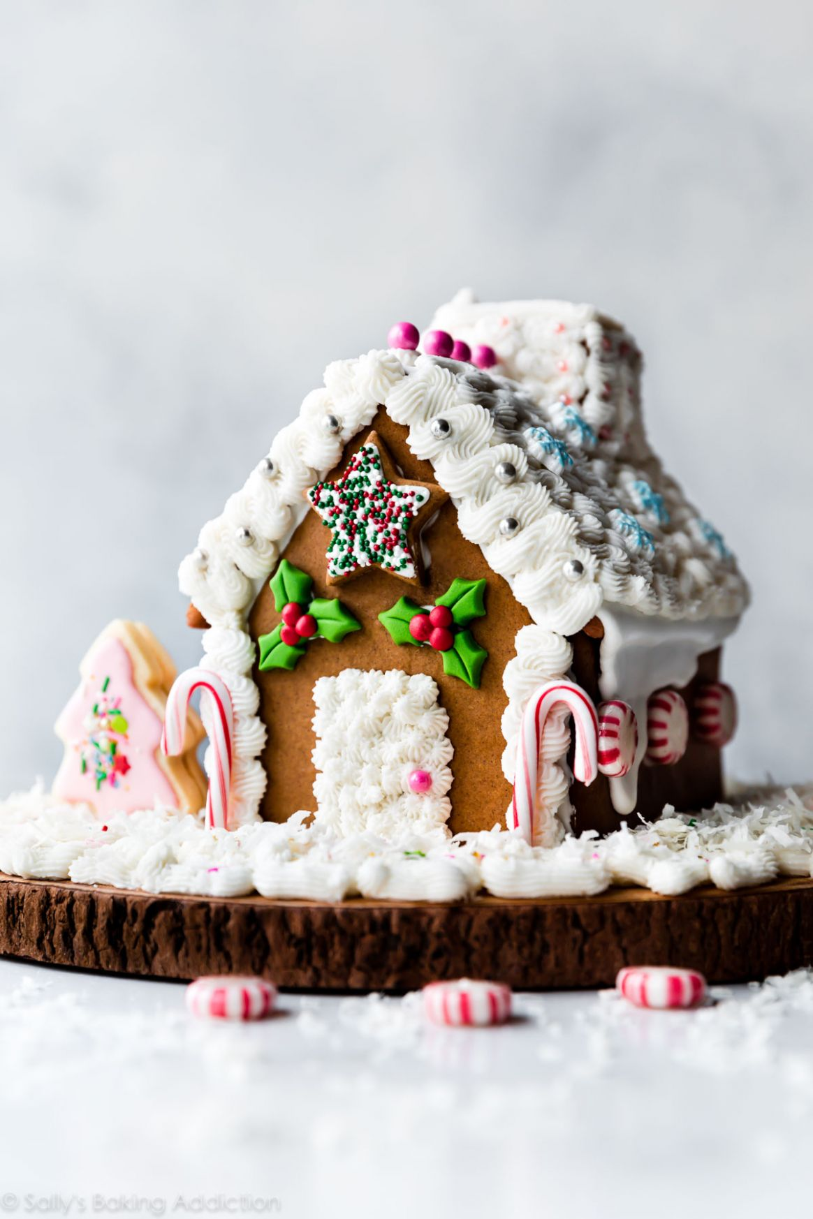 Gingerbread House Recipe (VIDEO) - gingerbread house inspiration