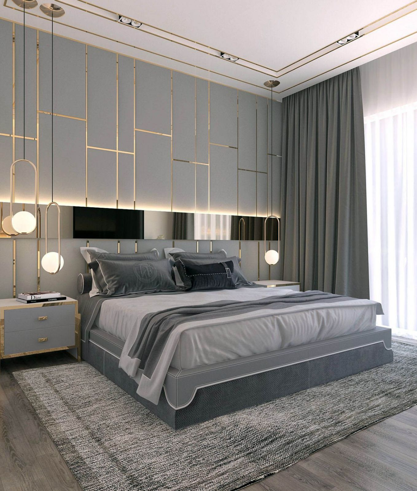 Good master bedroom ideas and colors made easy | Modern style ...