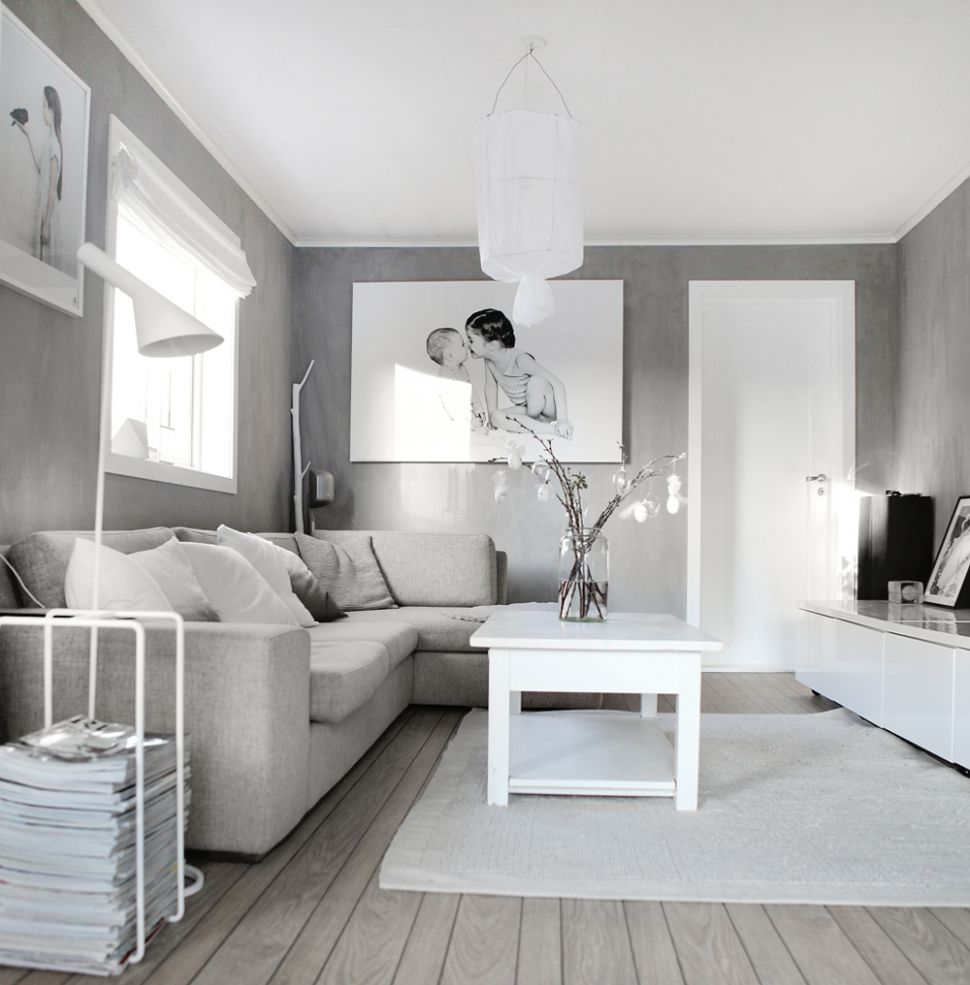 Gray And White Living Room Ideas Aiden Layout Decor Blue ...