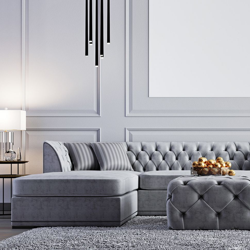 Gray Living Room Ideas - The Home Depot