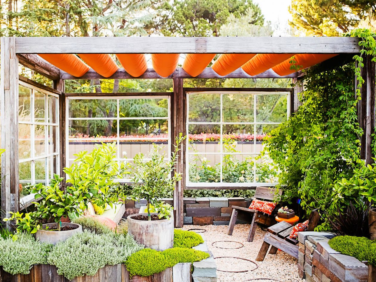 Great Ideas for Outdoor Rooms - Sunset