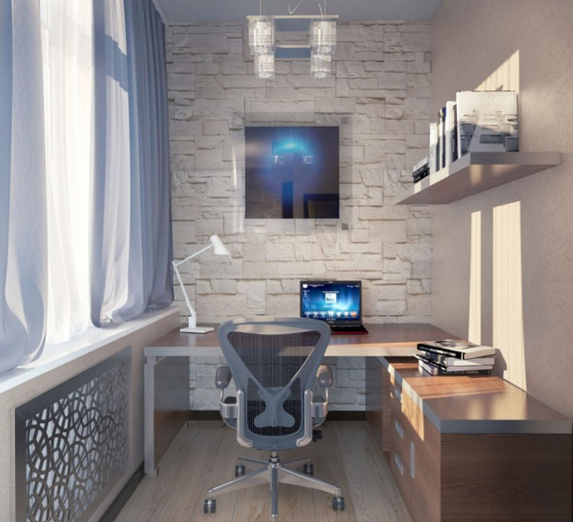Great Small Home Office Ideas For Two With L Shaped Desk ..