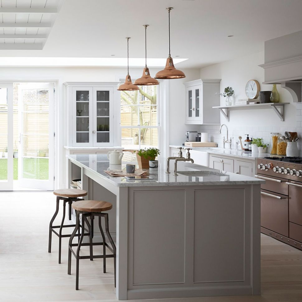 Grey kitchen ideas – 8 ideas for grey kitchens both stylish ...