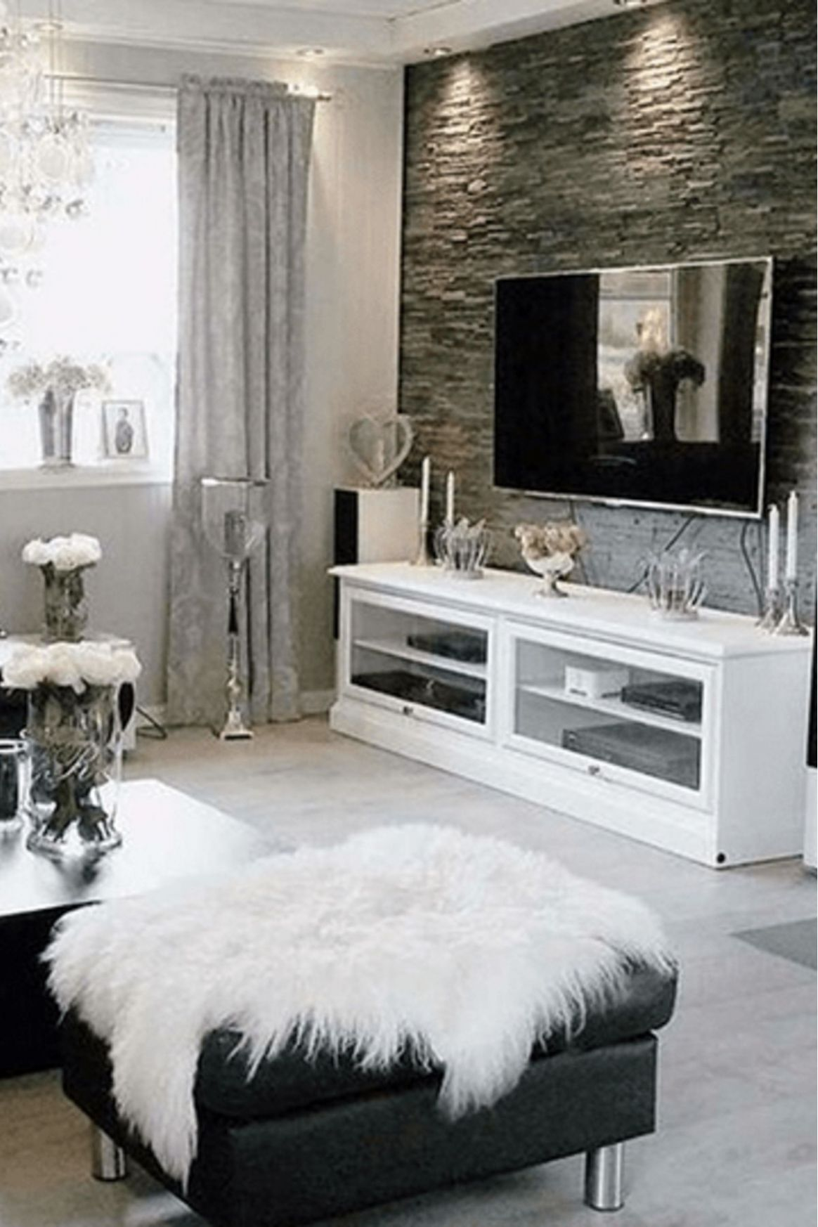 Grey Living Room Decor Ideas | Living room white, Living room grey ...