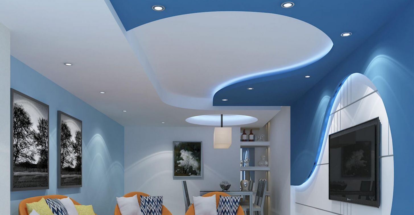 Gypsum Ceiling Kenya - Living Room GCI12 - living room ideas kenya