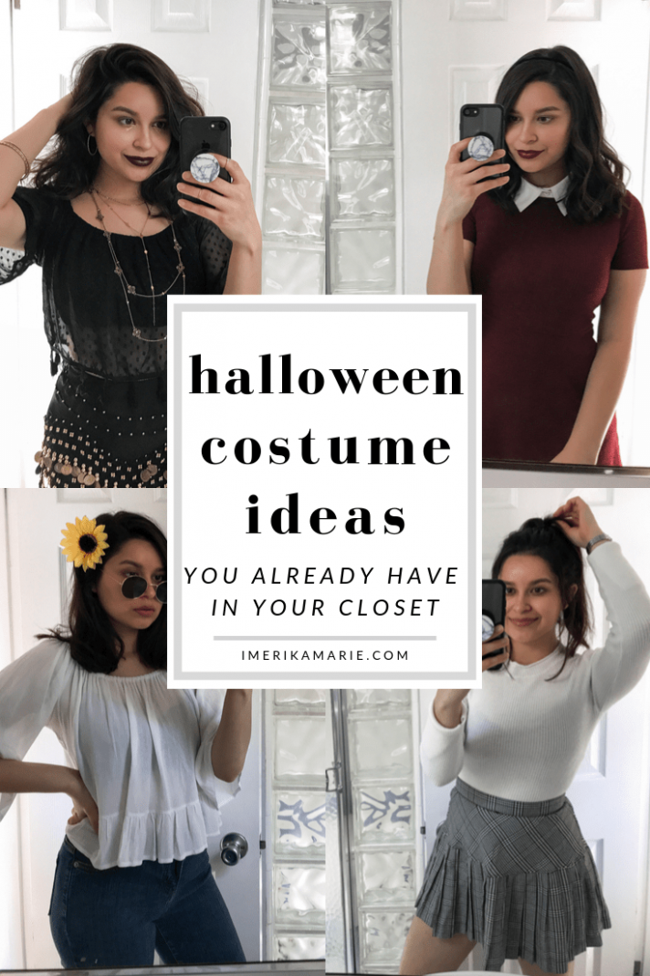 Halloween Costumes You Already Have In Your Closet - Erika Marie - closet costume ideas
