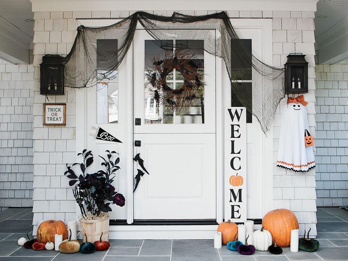 Halloween Home Decor and Front Porch Decorating Ideas From Etsy - front porch decor halloween