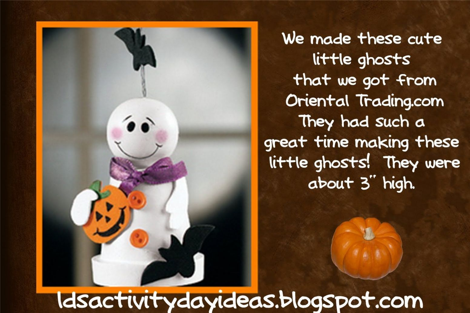 Halloween Ideas | Halloween activity days, Activity day girls ...