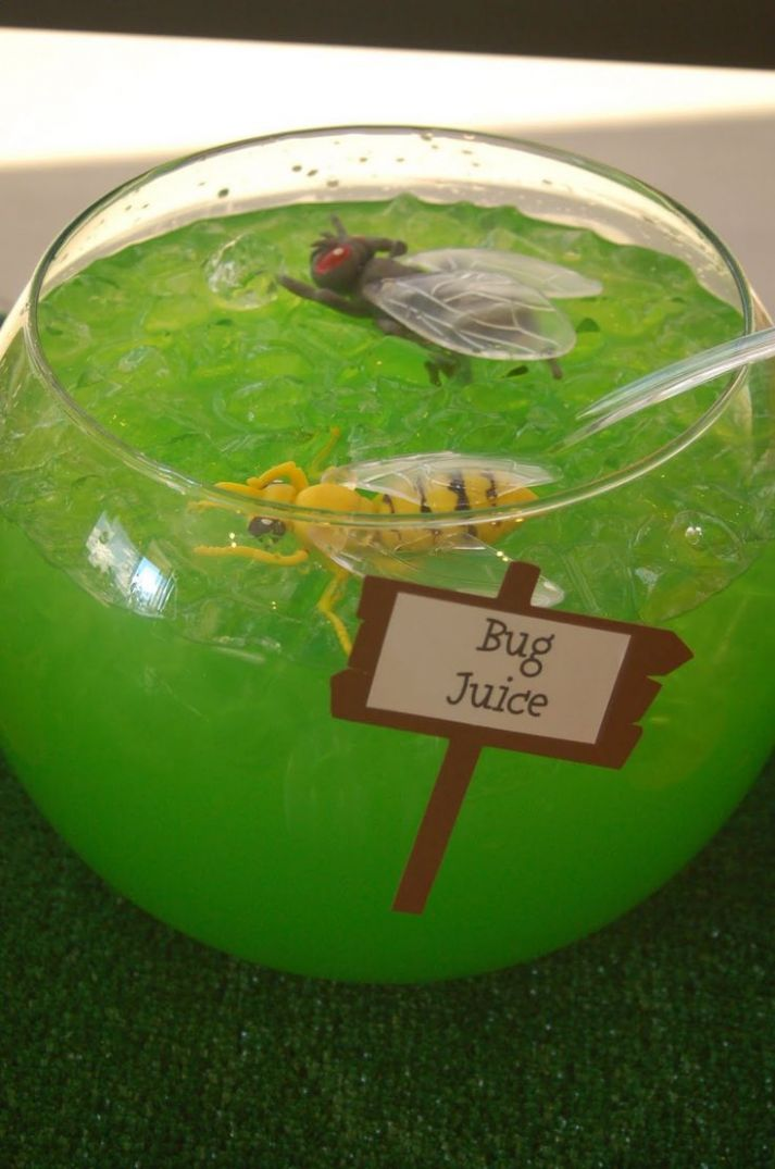 halloween theme birthday party | Bug Juice and other bug theme ..