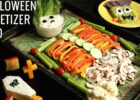 Halloween Veggie Tray Appetizer Trio Recipe