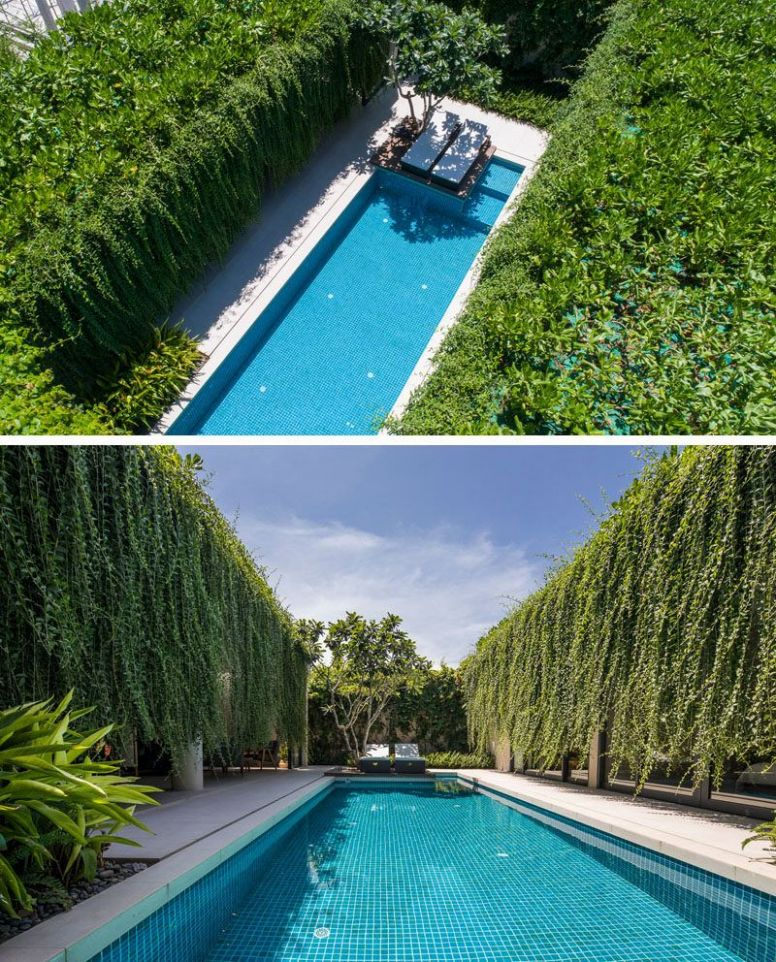 Hanging Gardens Create A Private Oasis For These Modern Villas ...