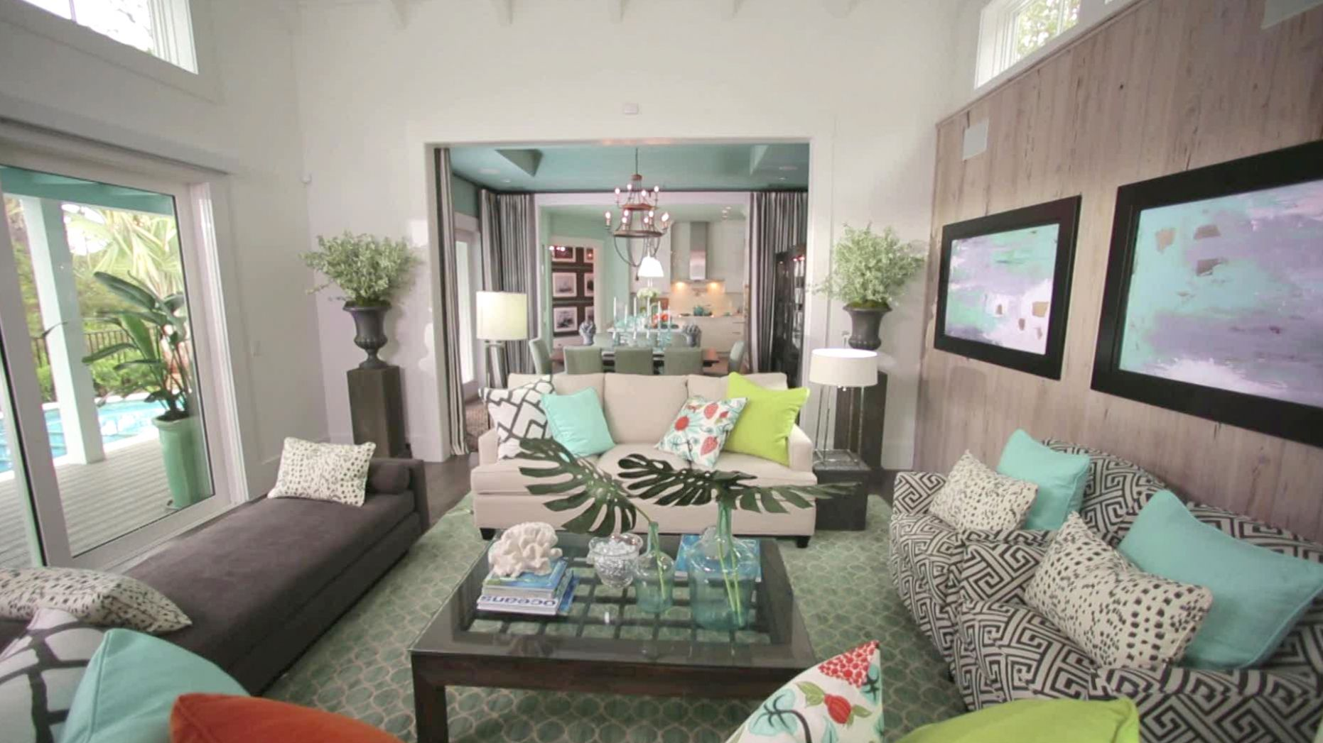 HGTV Smart Home 8 Living Room Videos | HGTV Smart Home 8 | HGTV