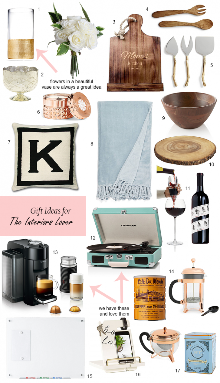 Holiday Gift Guide: For the Interiors Lover | Holiday gift guide ..