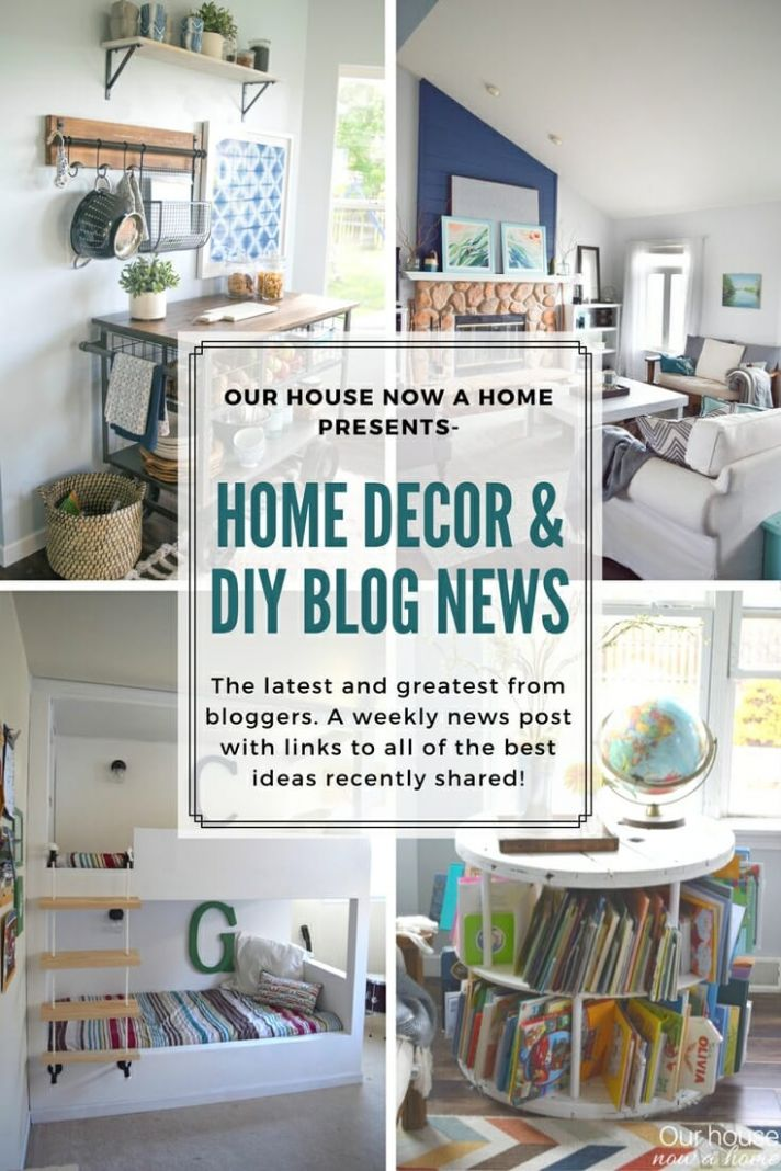 Home decor & DIY blog news, inspiring projects from this week ..