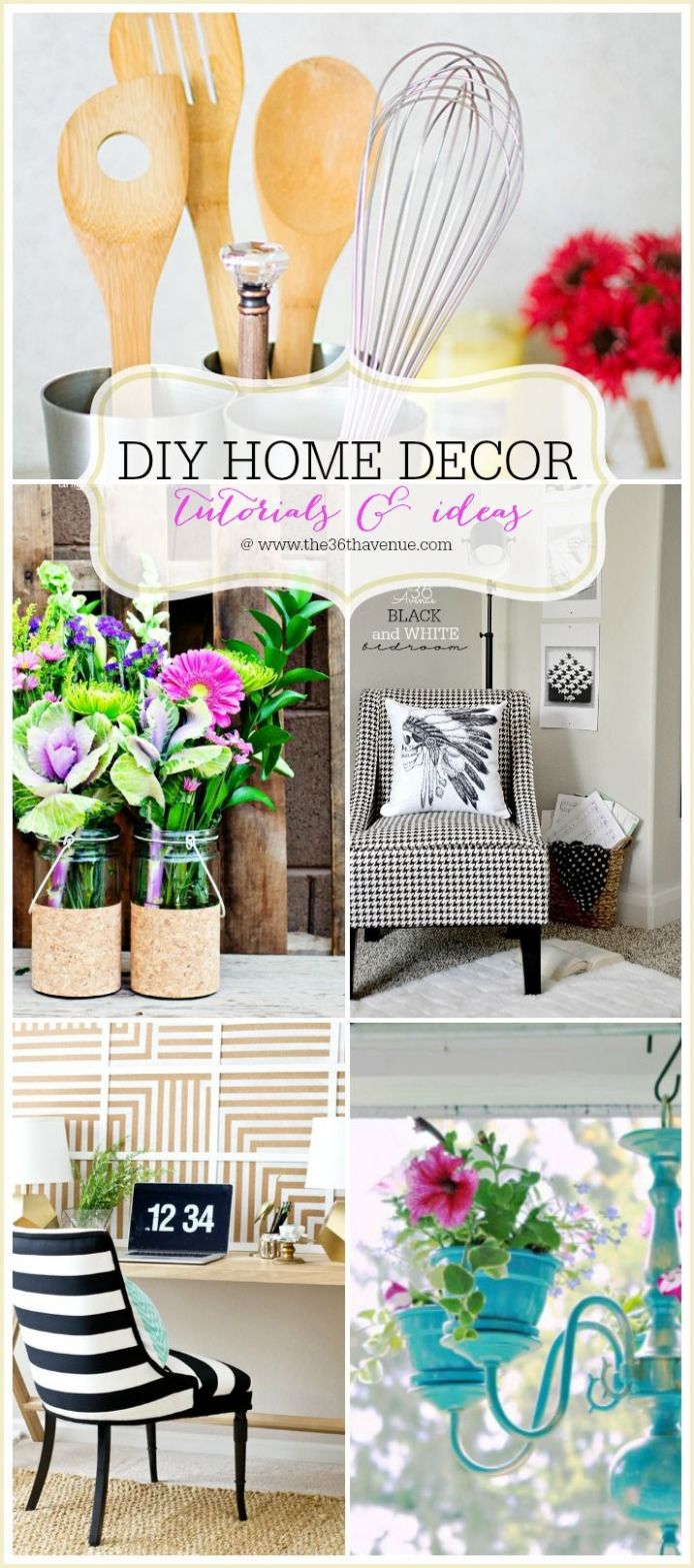 Home Decor DIY Projects | DIY -- Home Decor | Diy home decor, Diy ..