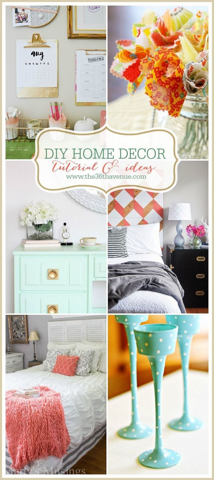 Home Decor DIY Projects | Diy home decor projects, Diy home decor ..