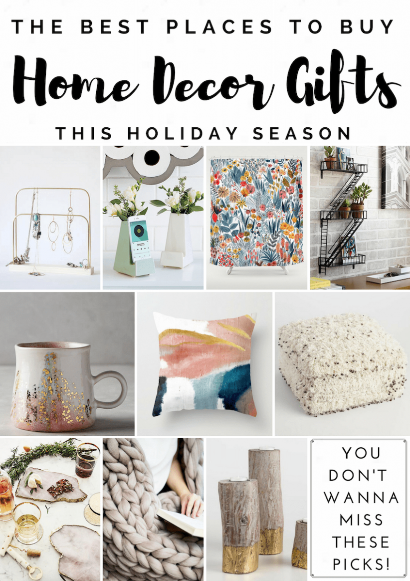 Home Decor Gift Guide - Best Places to Shop for Home Decor Gifts ..