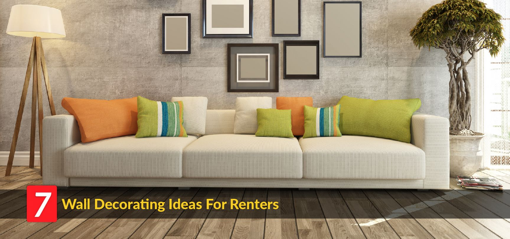 Home Décor Ideas: Here How Renters Can Decorate Walls