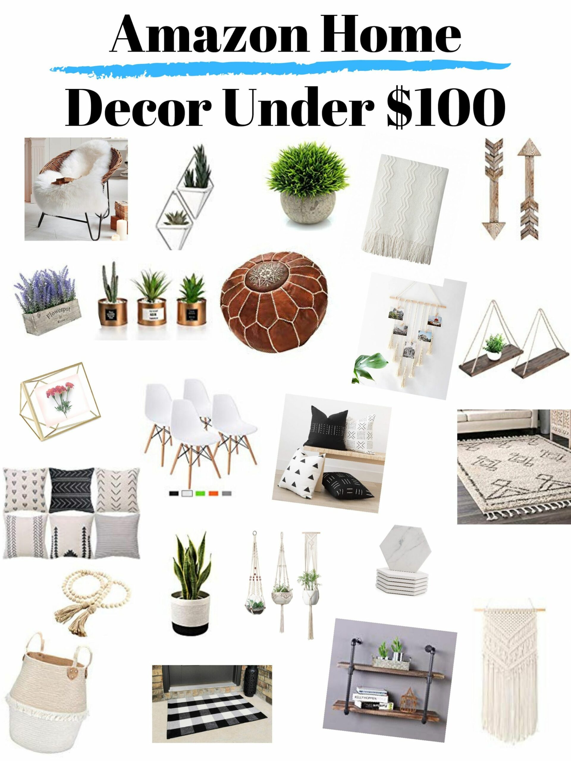 Home Decor – Mamas Little Tribe - home decor under 100