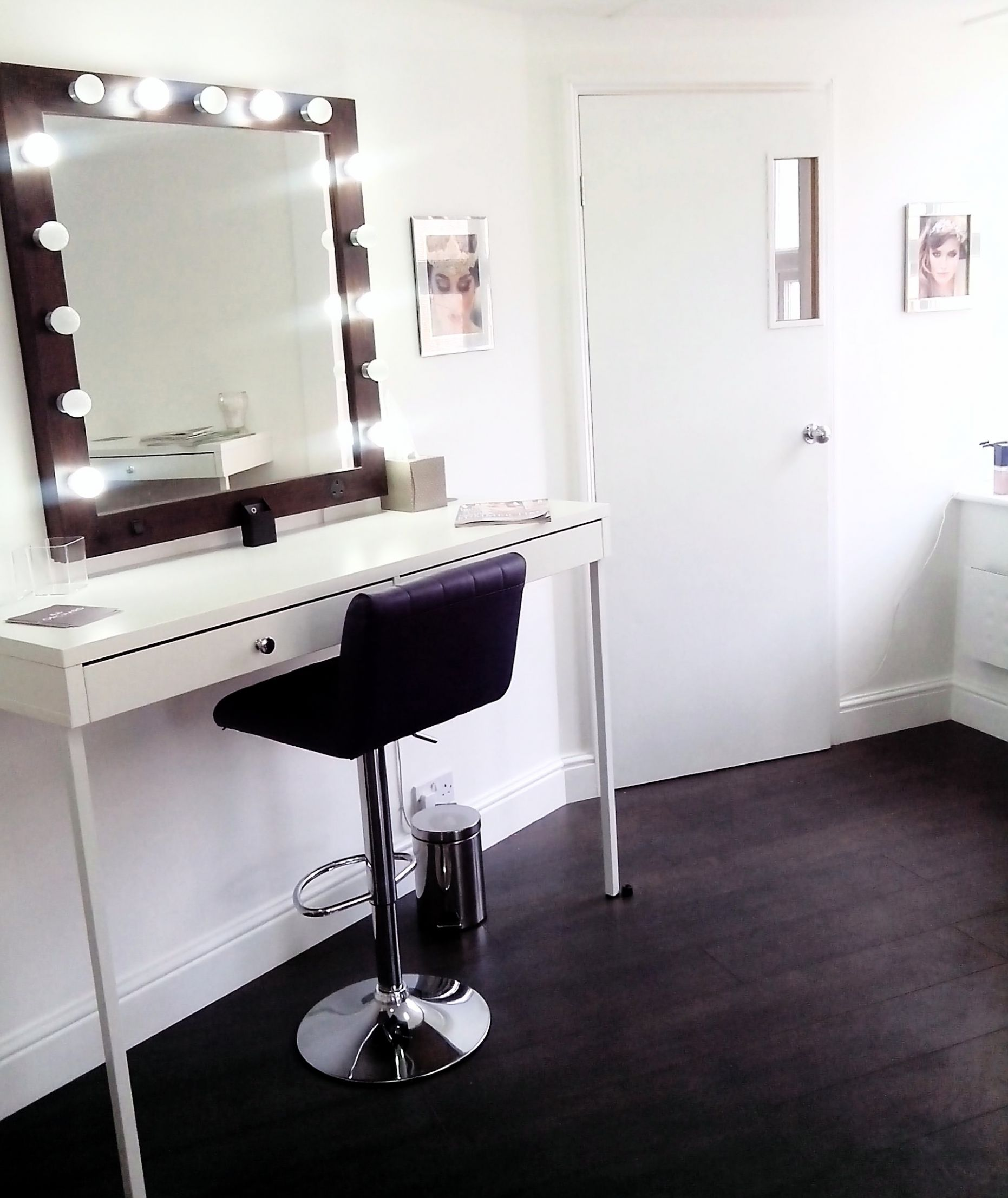 Home Makeup studio Ideas - Orchard Makeup - makeup room art ideas