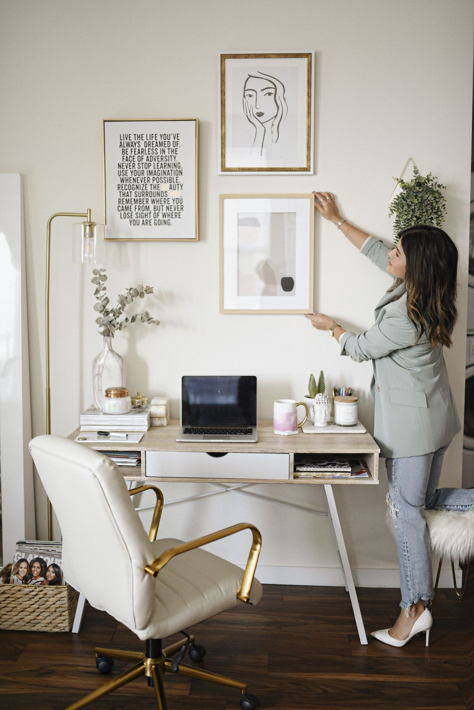 HOME OFFICE DECOR IDEAS | Home, Home office decor, Home accessories - home office makeover ideas