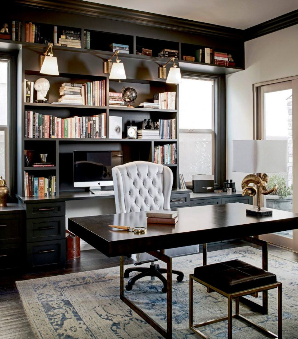Home Office Décor Ideas - How To Design A Workspace At Home - home office ideas images