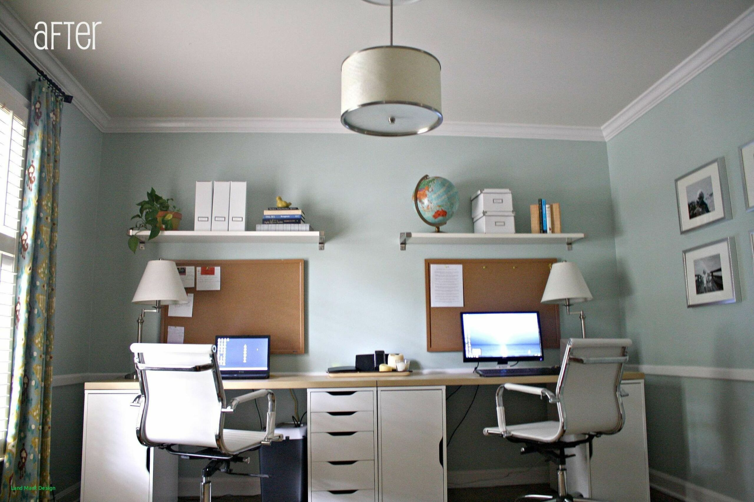 Home Office Designs for Two Design #interiordesign #decoration ..