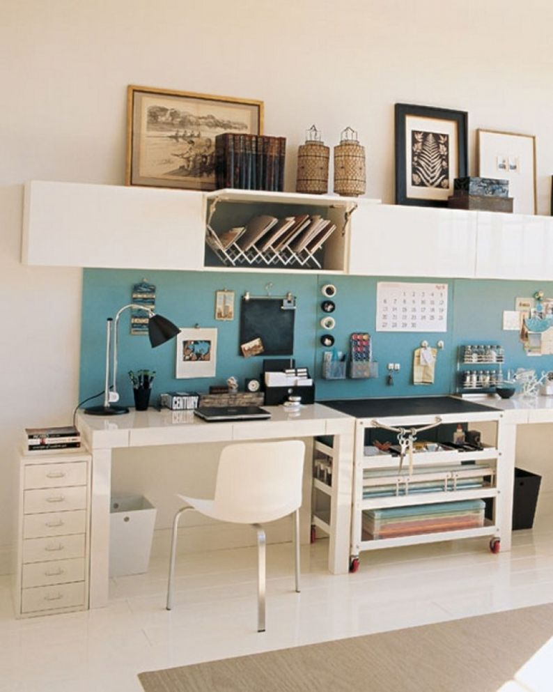 Home Office Designs On A Budget Amp Workspace Contemporary Small ..