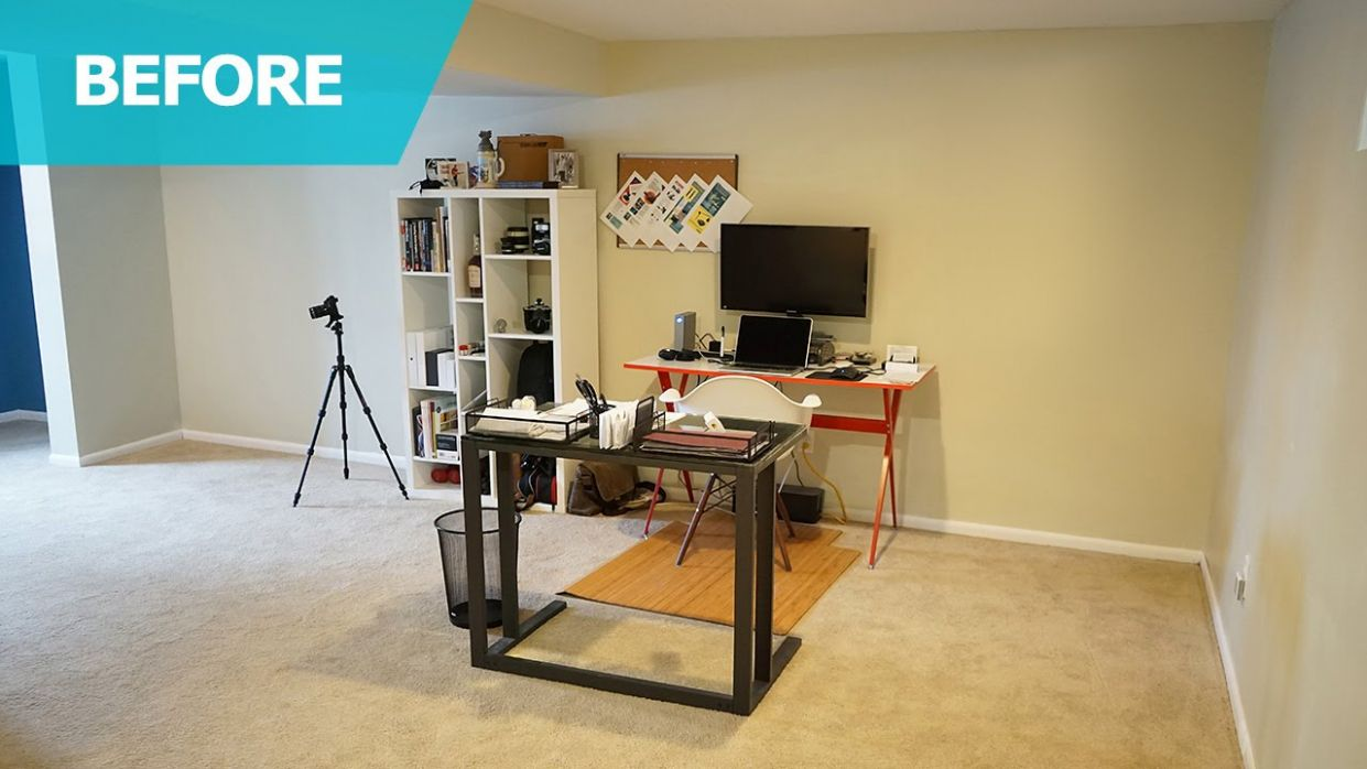 Home Office Ideas & Furniture – IKEA Home Tour (Episode 9) - small home office ideas for him