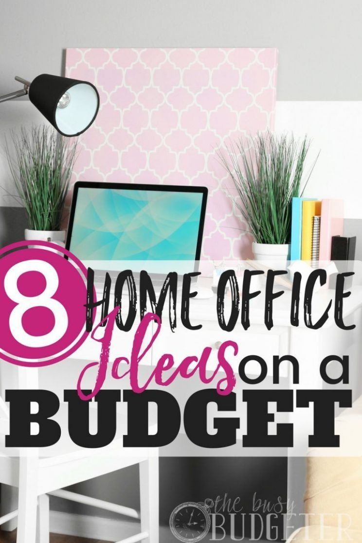 Home Office Ideas on a Budget: 11 Easy Office Upgrades - - #Budget ...
