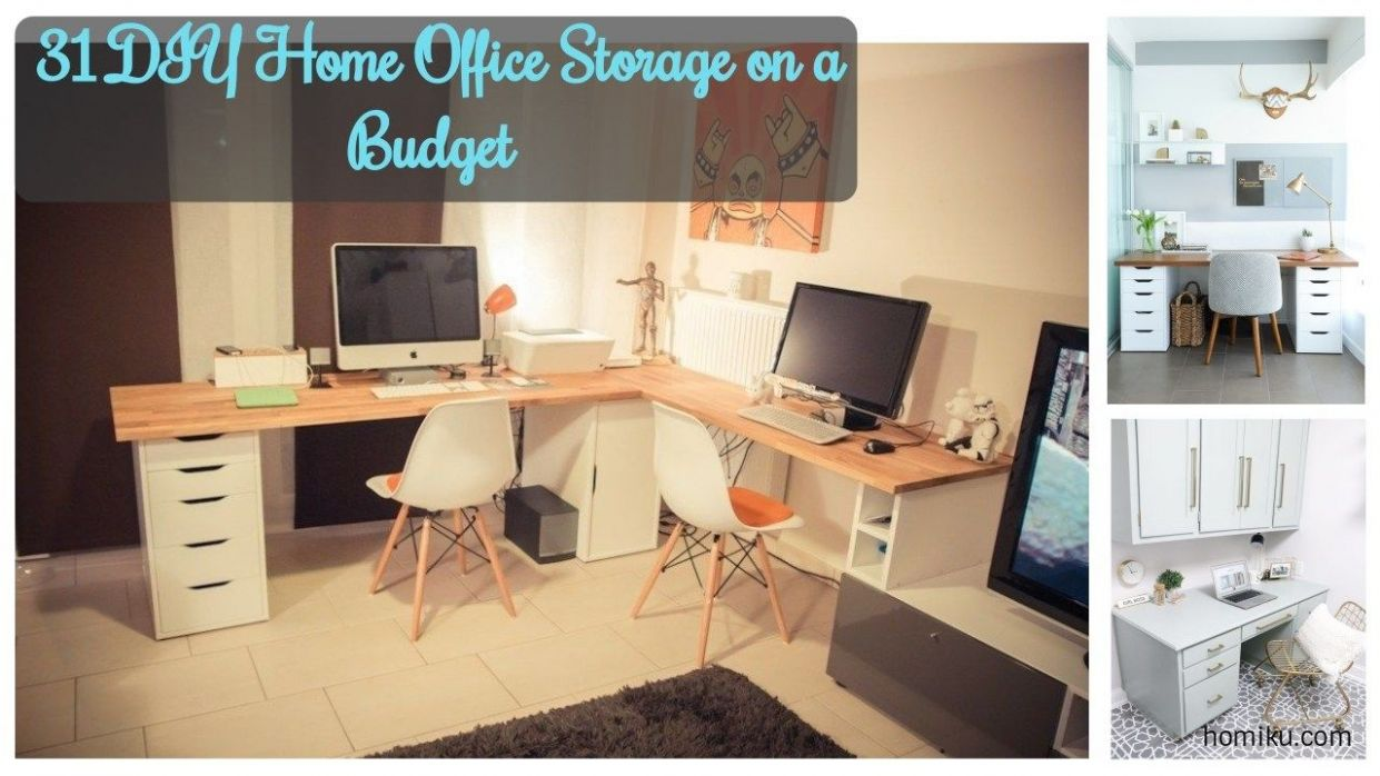 Home Office On A Budget Diy Quite Simply Theres More Than Type Of ...