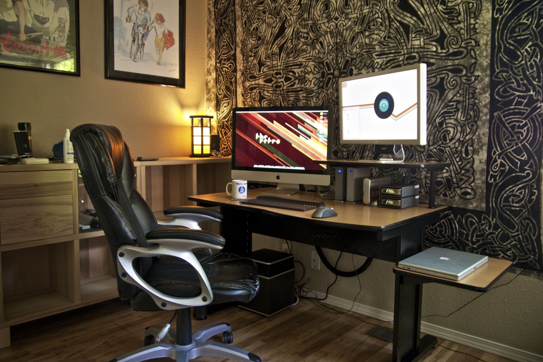 Home Office Setup Awesome Appearance Design Decorating Ideas ...