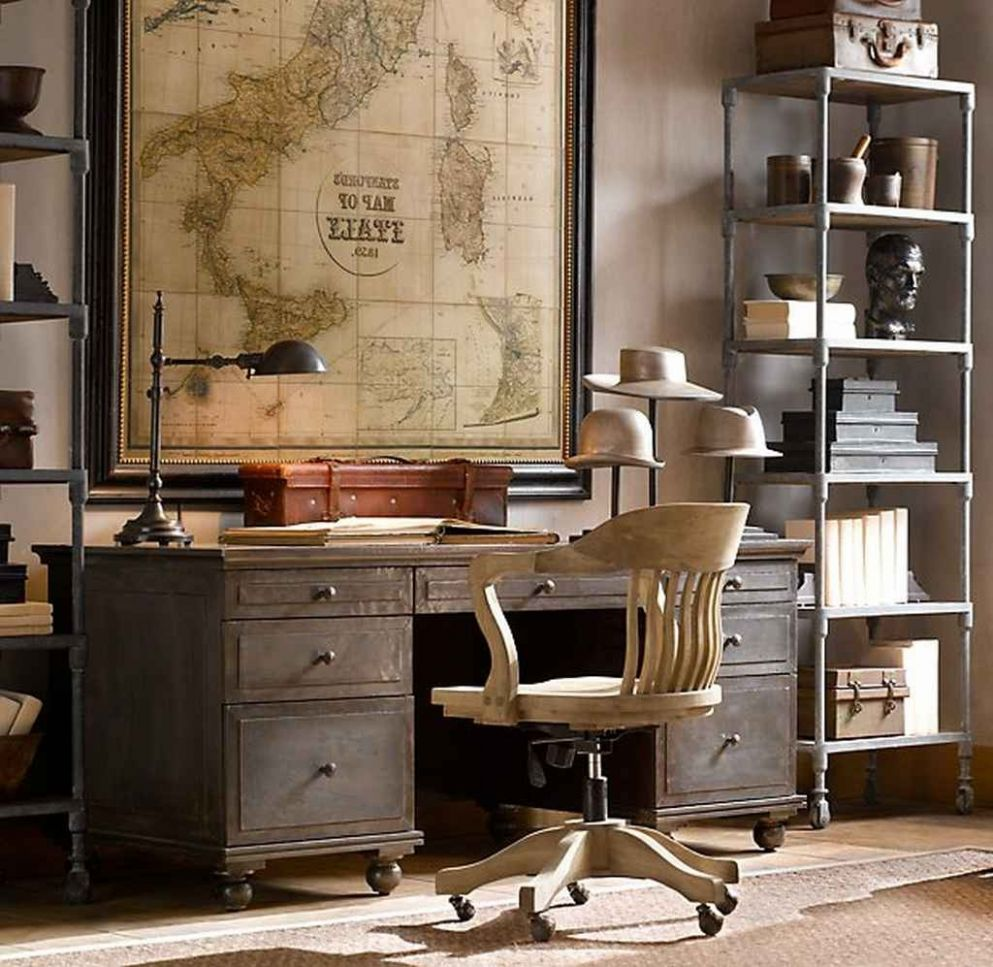Home Office Vintage Furniture Best Decor Things With Fall Door ..
