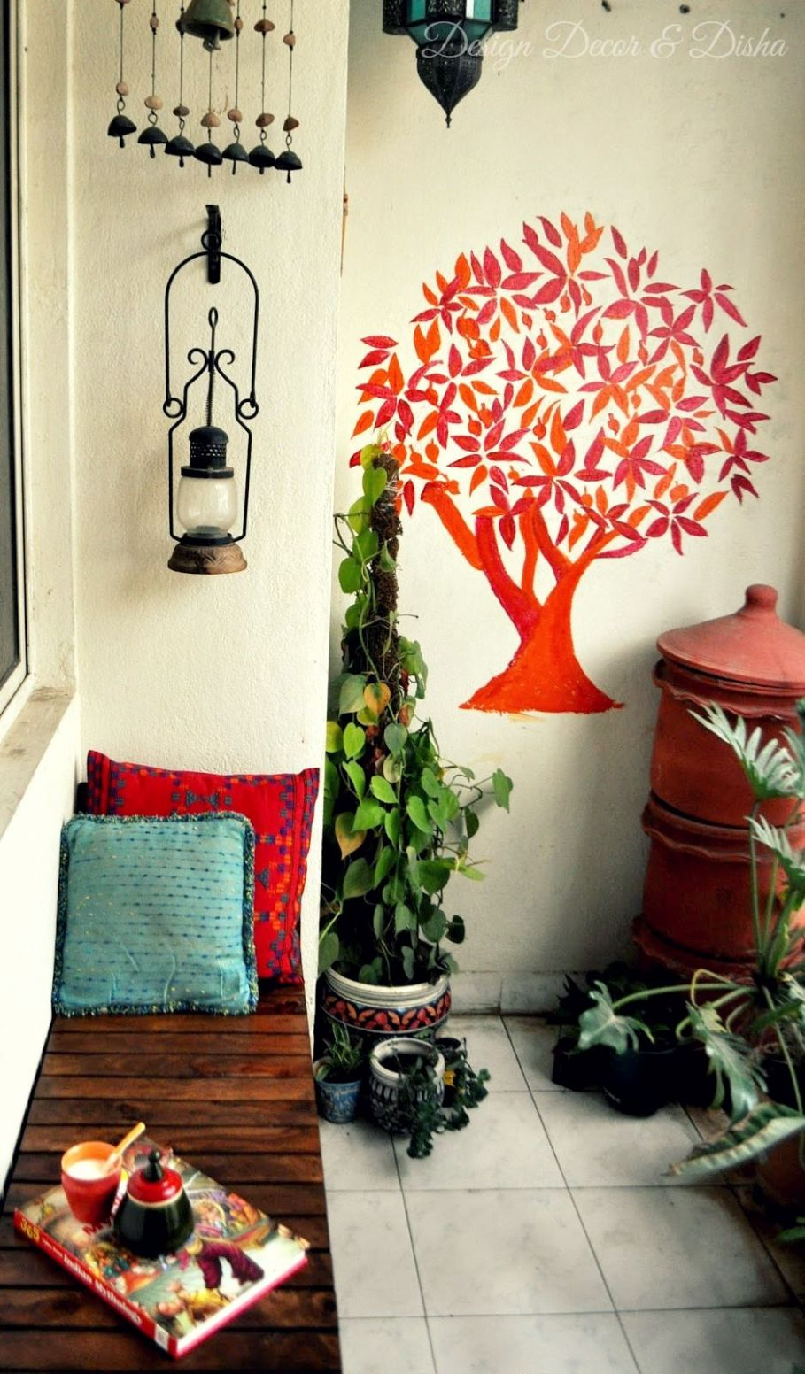 Home Tour: Padmamanasa Jwalaniah | Balcony decor, Apartment ..