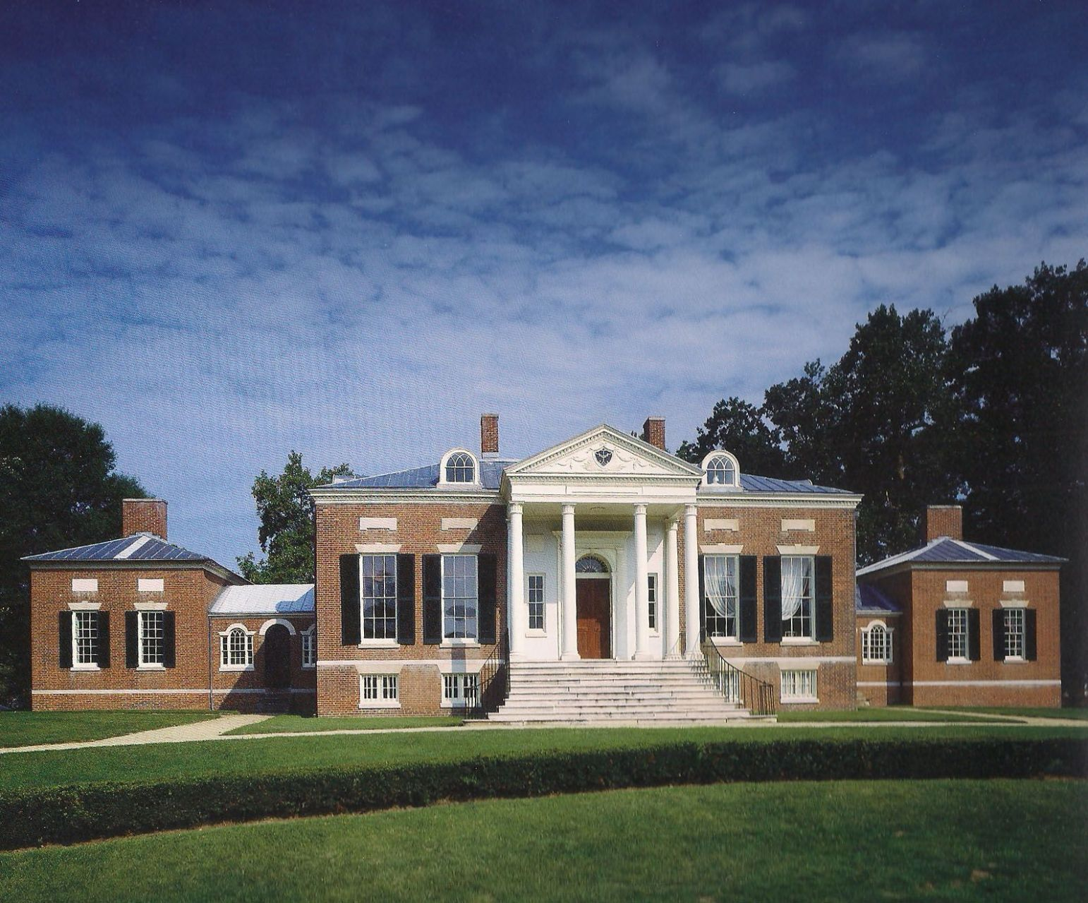Homewood House, a five-part Palladian villa in inspiration, was ..