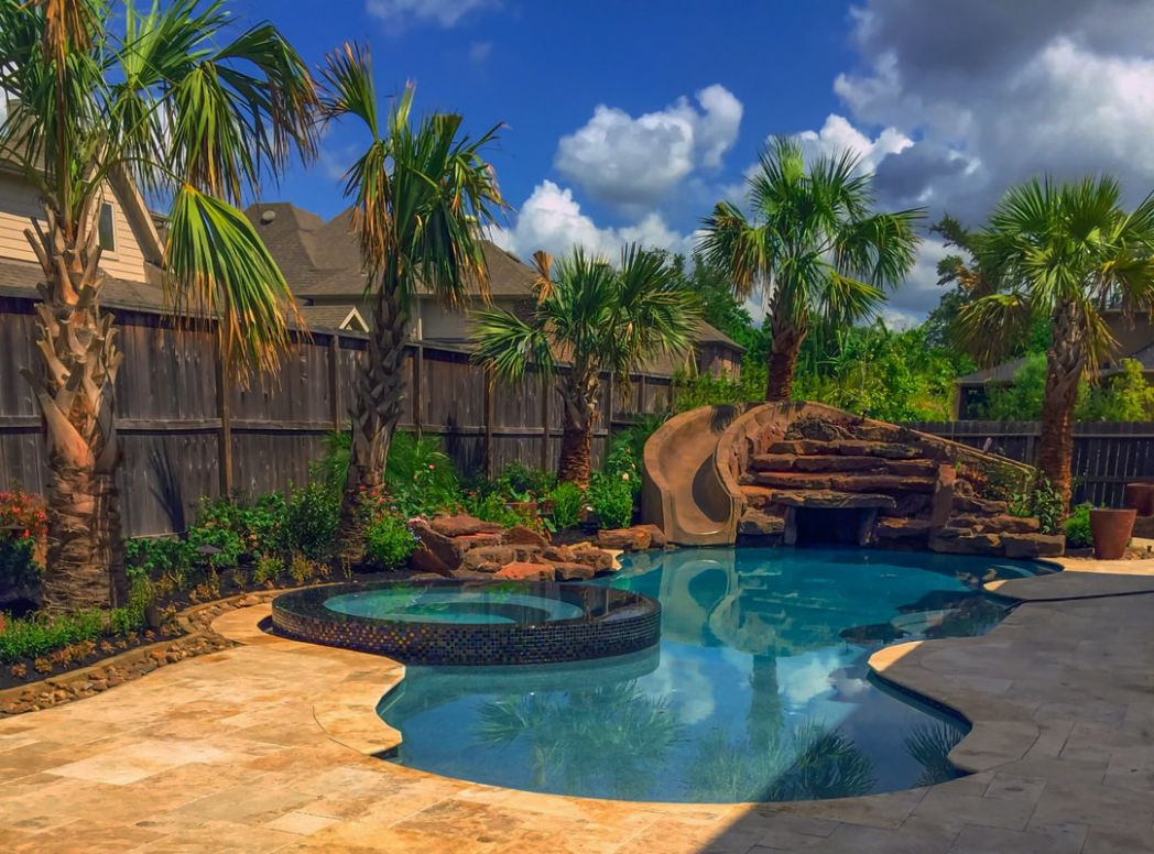 Houston Pool and Yard Landscaping Ideas - Outdoor Perfection - pool landscaping ideas
