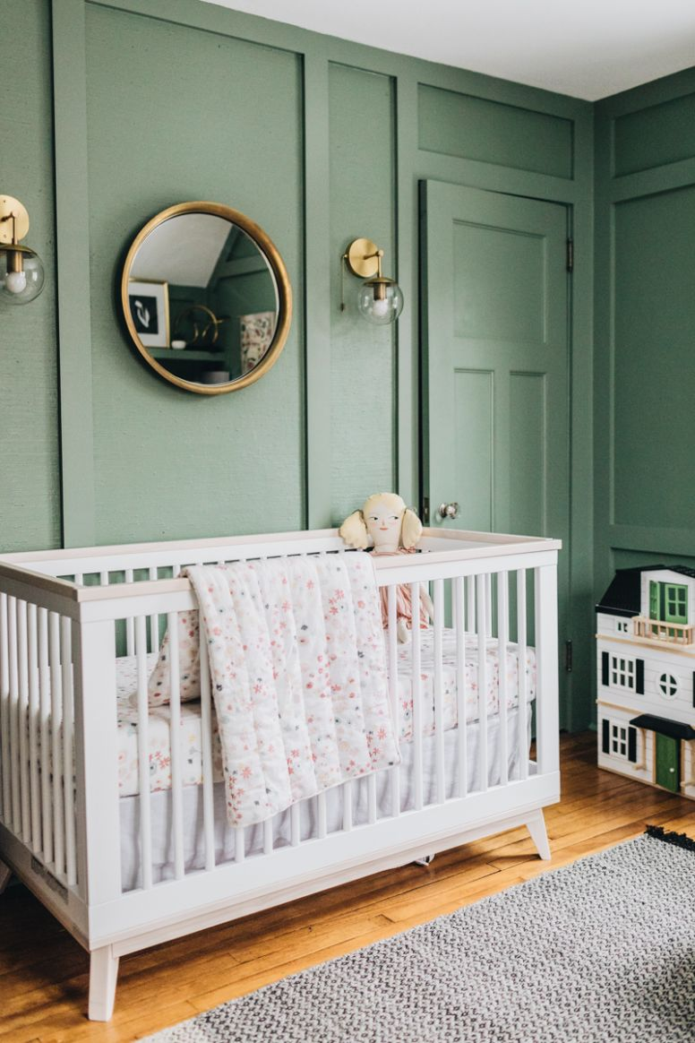 How Color Affects Your Baby - Project Nursery - baby room green