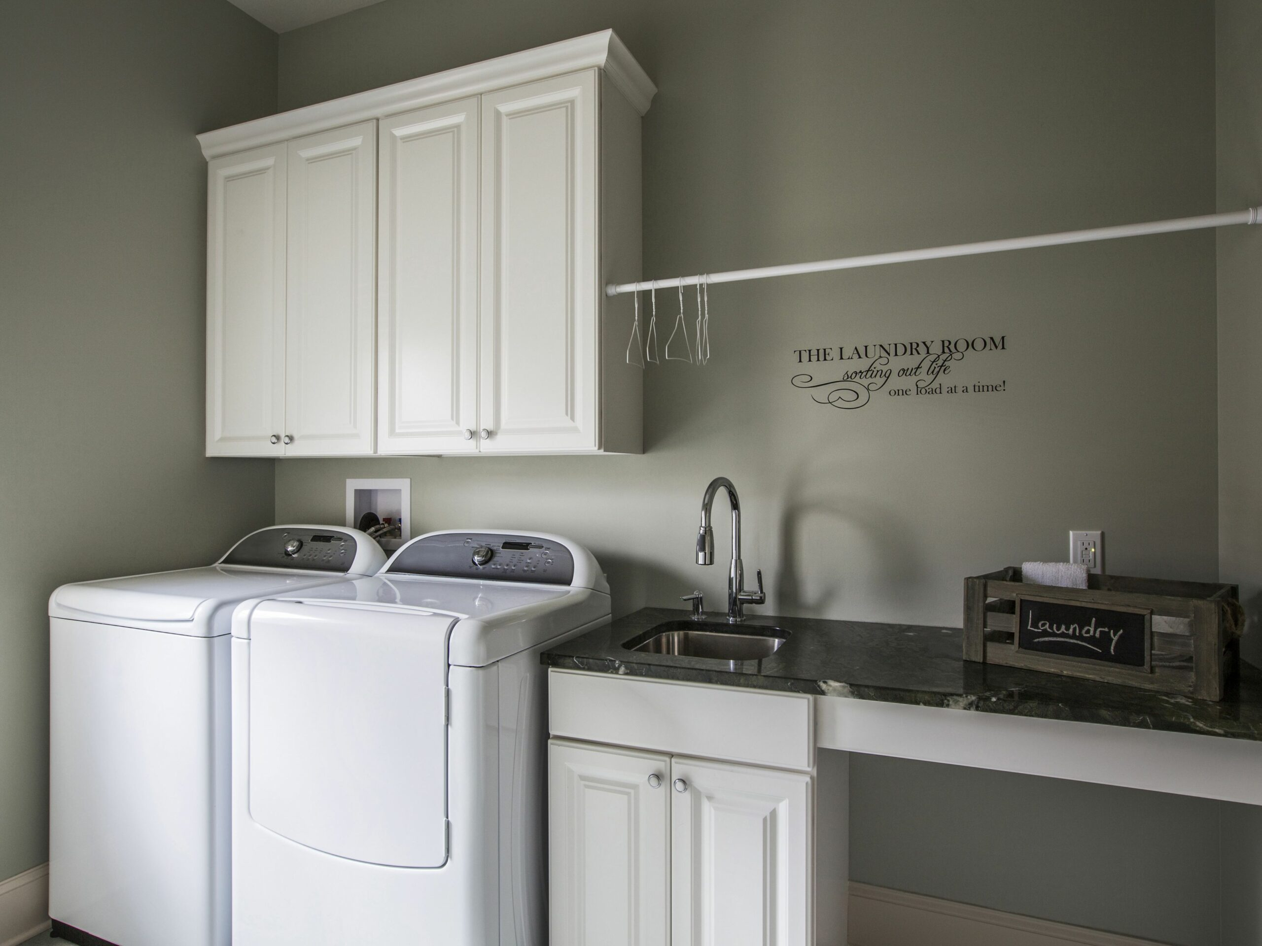 How Does a Top Load Washer Work? - laundry room ideas top load