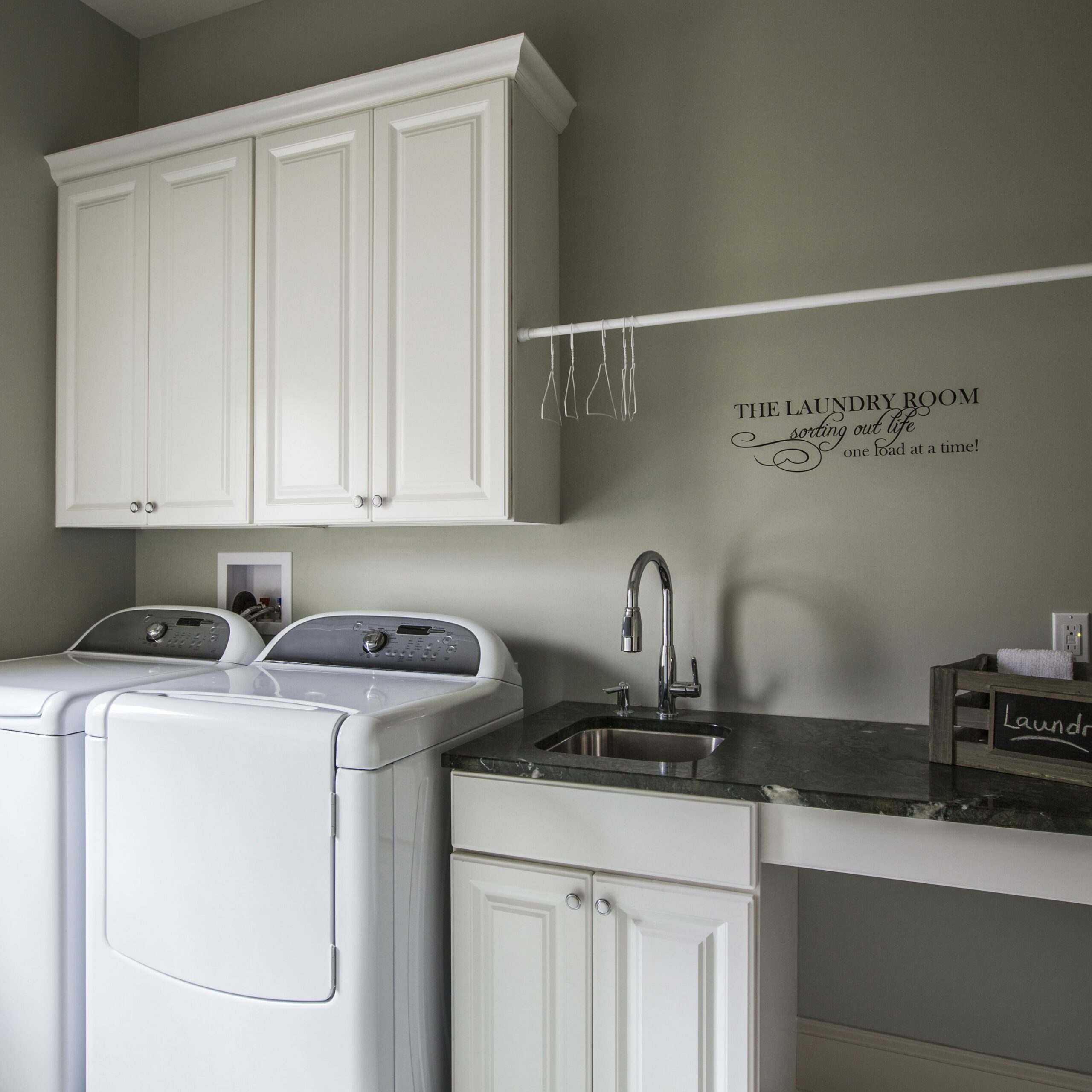How Does a Top Load Washer Work? - laundry room ideas with top load washer