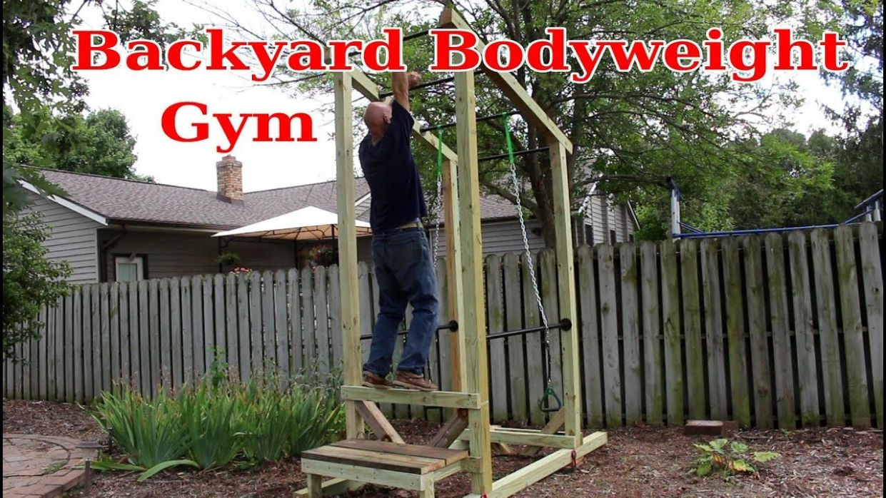 How to Build a Backyard Bodyweight Gym