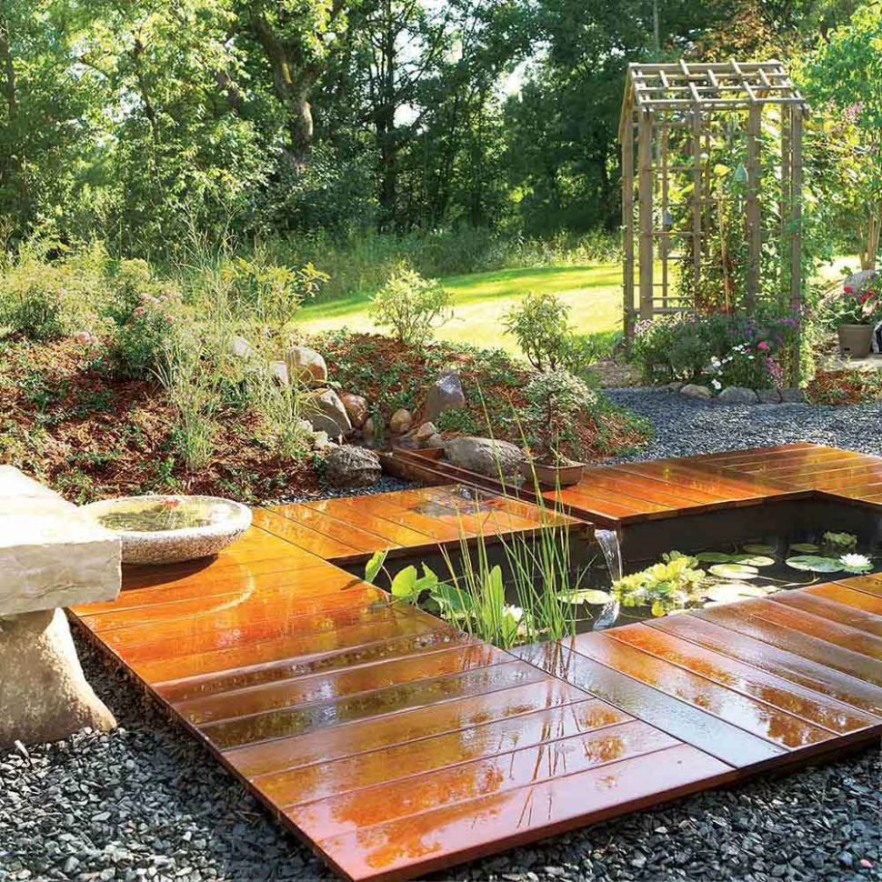 How to Build a Pond Easily, Cheaply and Beautifully | The Garden Glove - garden ideas pond