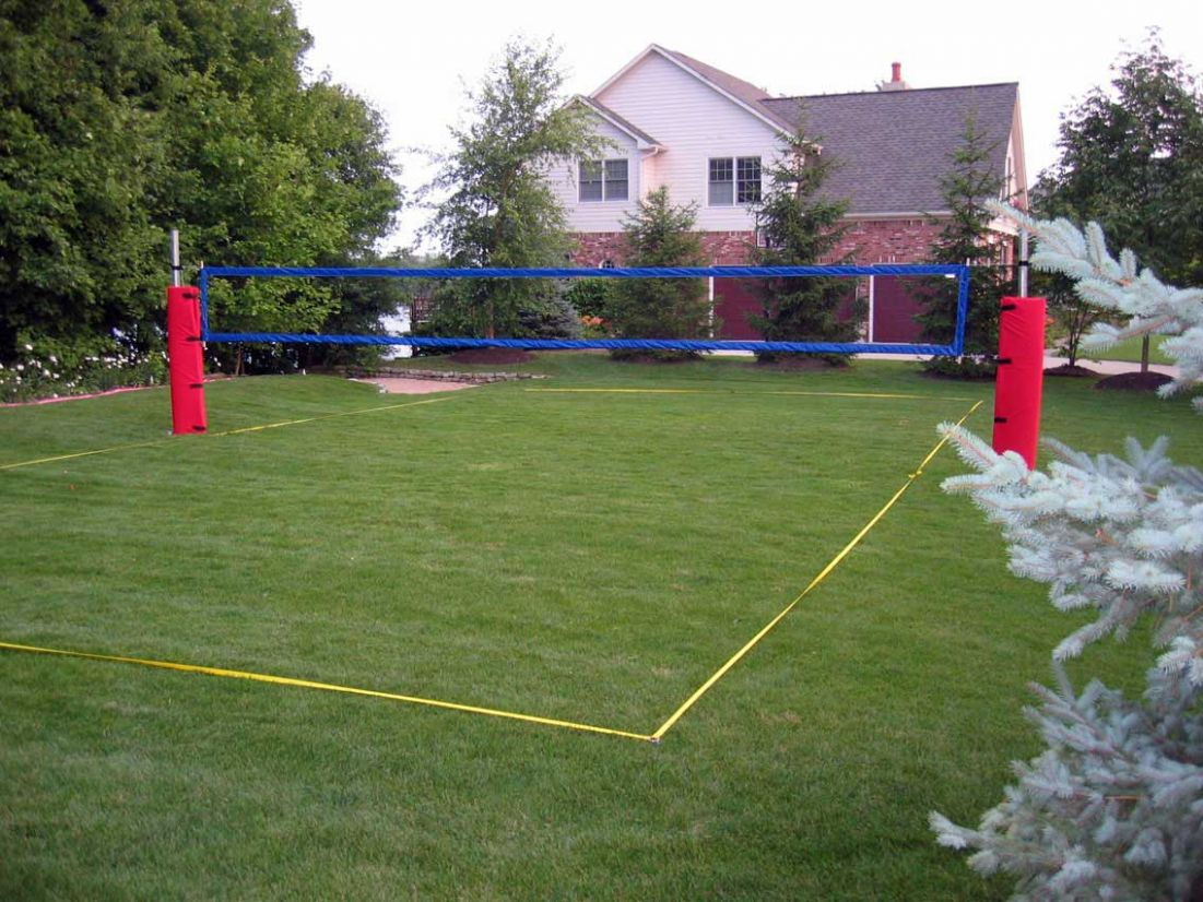 How To Construct A Volleyball Court - VolleyballUSA